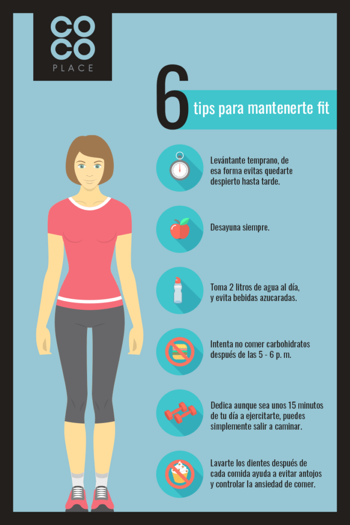 6 tips para mantenerte fit